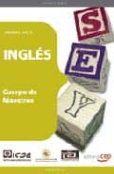Concursopiedraspreciosas.es Cuerpo De Maestros: Ingles: Temario (Vol. Ii) Image