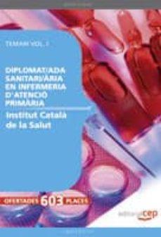 Alienazioneparentale.it Diplomat/da Sanitari/aria En Infermeria D Atencio Primaria De L I Nstitut Català De La Salut. Temari Vol.i Image