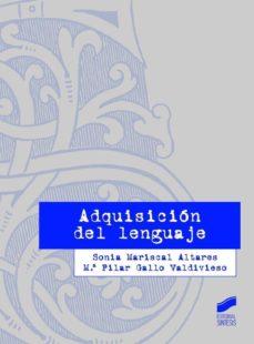 Descargar ADQUISICION DEL LENGUAJE gratis pdf - leer online