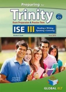 Descargas gratuitas de audiolibros cd PREPARING FOR TRINITY - ISE III - C1: SELF STUDY EDITION