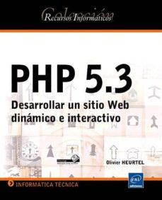 Inmaswan.es Php 5.3: Desarrollar Un Sitio Web Dinamico E Interactivo (2ª Ed.) Image