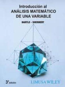 Permacultivo.es Introduccion Al Analisis Matematico De Una Variable Image