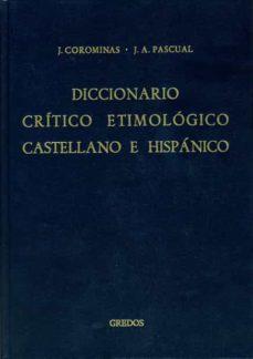 me-re: diccionario critico etimologico castellano e hispanico (t. 4)-joan coromines-jose antonio pascual-9788424900663