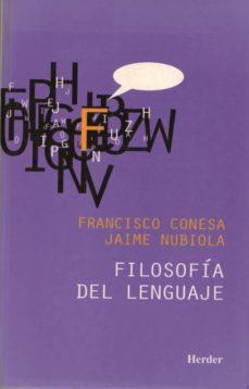 filosofia del lenguaje-francisco conesa-9788425420863