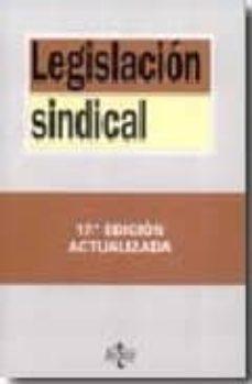 Javiercoterillo.es Legislacion Sindical (17ª Ed.) Image