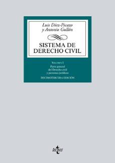 sistema de derecho civil (13ª ed.) 2016-luis diez-picazo-antonio gullon-9788430968763