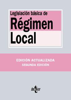 legislacion de regimen local (2ª ed.)-9788430969463