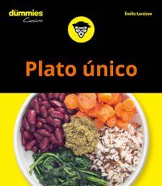 plato unico para dummies-emilie laraison-9788432905063