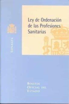 Valentifaineros20015.es Ley De Ordenacion De Las Profesiones Sanitarias Image