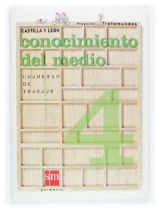 Permacultivo.es Trotamundos: Cuaderno Conocimiento Del Medio (Castilla Y Leon) (E Ducacion Primaria) Image