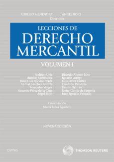 Relaismarechiaro.it Lecciones De Derecho Mercantil Vol.i (9ª Ed.) Image