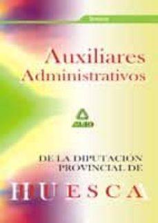 Trailab.it Auxiliares Administrativos De La Diputacion Provincial De Huesca: Temario Image