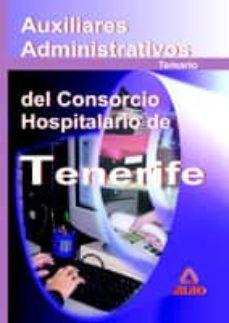 Cdaea.es Auxiliares Administrativos Del Consorcio Hospitalario De Tenerife . Temario Image