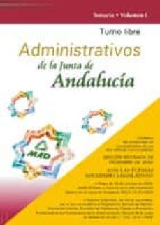 Viamistica.es Administrativos De La Junta De Andalucia. Turno Libre: Temario (V Ol. I) Image