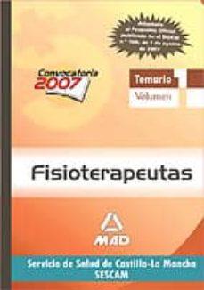 Inmaswan.es Fisioterapeutas Del Servicio De Salud De Castilla-la Mancha (Sesc Am): Temario (Vol. I) Image