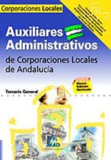 Alienazioneparentale.it Auxiliares Administrativos De Corporaciones Locales De Andalucia. Temario General Image