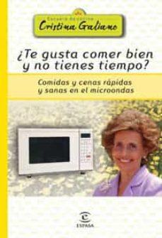 Resultado de imagen de ebook del microondas de cristina galiano