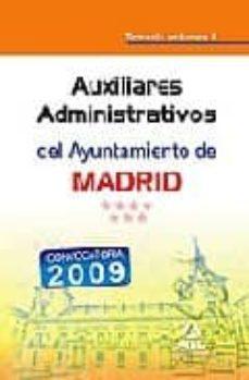 Permacultivo.es Auxiliares Administrativos Del Ayuntamiento De Madrid: Temario Vo Lumen Ii Image