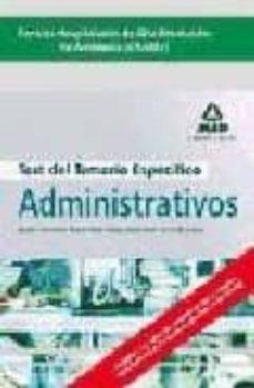 Vinisenzatrucco.it Administrativos De Los Centros Hospitalarios De Alta Resolucion D Andalucia (Chares). Test Parte Especifica Image