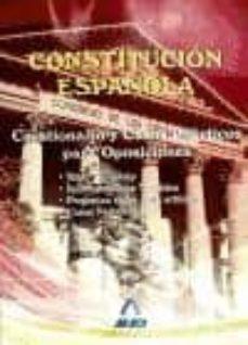 Relaismarechiaro.it Constitucion Española: Cuestionarios Y Casos Practicos Para Oposi Ciones Image