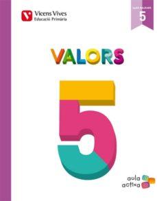Vinisenzatrucco.it Valors 5 Balears (Aula Activa) Quinto De Primaria Image