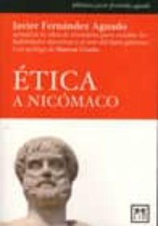 etica a nicomaco-javier fernandez aguado-9788483561263