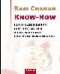 know-how-ram charan-9788483580363