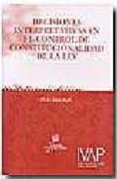 Permacultivo.es Decisiones Interpretativas En El Control De Constitucionalidad De La Ley Image