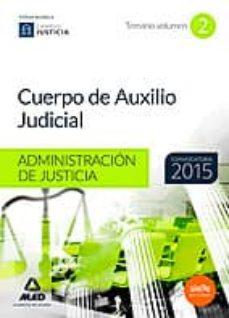 Inmaswan.es Cuerpo De Auxilio Judicial De La Administración De Justicia. Temario Volumen 2 Image
