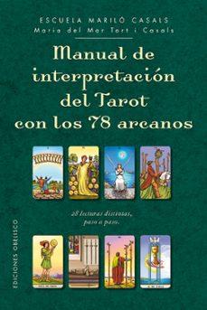 manual de interpretacion del tarot con 78 arcanos-maria del mar tort i casals-9788491112563
