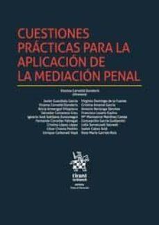 cuestiones prácticas para la aplicación de la mediación penal-9788491199663