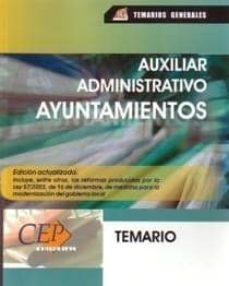 Permacultivo.es Auxiliar Administrativo De Ayuntamientos: Temario Image