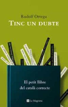 Descargar TINC UN DUBTE gratis pdf - leer online