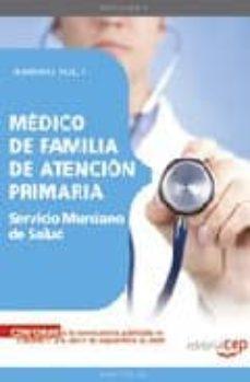 Bressoamisuradi.it Medico De Familia De Atencion Primaria. Servicio Murciano De Salu D. Temario Especifico Vol. I. Image