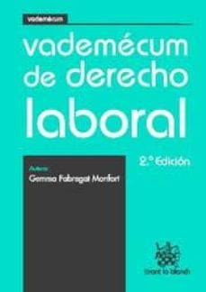 Eldeportedealbacete.es Vademecum De Derecho Laboral 2ª Edicion Image