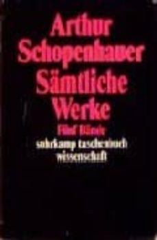 samtliche werke 5bde.-arthur schopenhauer-9783518097373