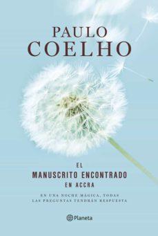 Descargas de libros para mp3 EL MANUSCRITO ENCONTRADO EN ACCRA (ED. ILUSTRADA) (Spanish Edition) de PAULO COELHO