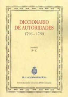 Srazceskychbohemu.cz Diccionario De Autoridades (Tomo Vi) Image