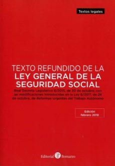 Titantitan.mx Texto Refundido De La Ley General De La Seguridad Social Image