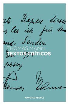 Libros de epub en ipad descargar TEXTOS CRITICOS MOBI DJVU CHM in Spanish de THOMAS MANN 9788417978273