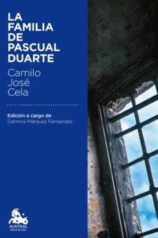 Ebooks scribd descarga gratuita LA FAMILIA DE PASCUAL DUARTE in Spanish ePub de CAMILO JOSE CELA 9788423351473