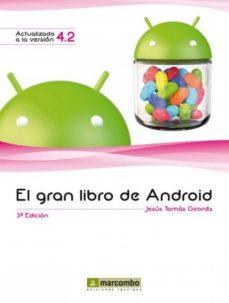 el gran libro de android (ebook)-jesus tomas girones-9788426719973
