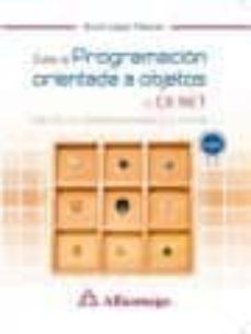 curso de programacion orientada a objetos con c# .net-bruno lopez takeyas-9788426723673