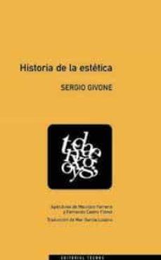historia de la estetica-sergio givone-9788430918973