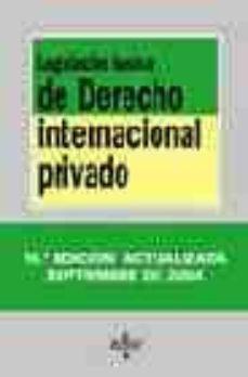 Ojpa.es Legislacion Basica De Derecho Internacional Privado (14ª Ed.) Image