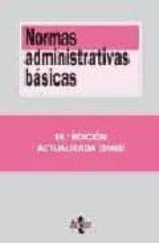 Inmaswan.es Normas Administrativas Basicas(19ª Ed.) Image