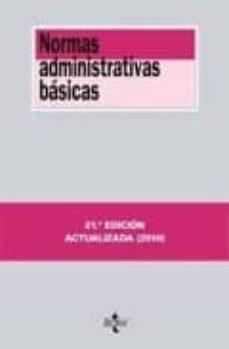 Elmonolitodigital.es Normas Administrativas Basicas (21ª Ed.) Image