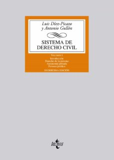 Milanostoriadiunarinascita.it Sistema De Derecho Civil: Volumen I: Introduccion.derecho De La Persona. Autonomia Privada.persona Juridica (12ª) Image