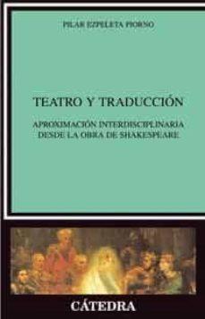 Costosdelaimpunidad.mx Teatro Y Traduccion: Aproximacion Interdisciplinaria Desde La Obr A De Shakespeare Image