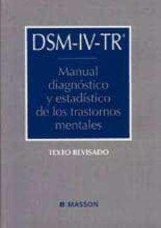 dsm-iv-tr: manual de diagnostico y estadistico de los trastornos mentales-michael b. first-9788445810873